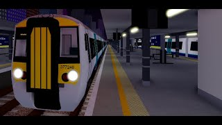 Roblox SCR: Class 377 - Stepford Victoria to Whitefield - 14/06/19
