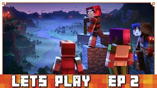 My First Solo Playthrough of Minecraft Dungeons Story | Let's Play Minecraft Dungeons Episode 2