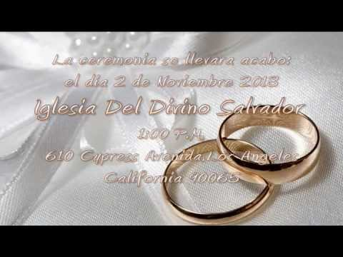 Invitacion 50 Aniversario Rosa Y Alberto Avila Youtube