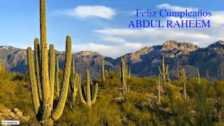 AbdulRaheem   Nature & Naturaleza - Happy Birthday