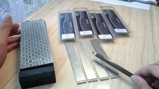 Бюджетные алмазные бруски от магазина Ru-chef.ru. Обзор