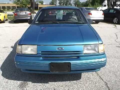 1993 ford tempo gl for sale cleveland ohio youtube. Black Bedroom Furniture Sets. Home Design Ideas