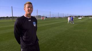 Clearing the Ball - Center Back Training by IMG Academy Soccer (2 of 4)