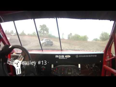 Jim Beasley Kankakee Speedway Sport Compact Heat race 8-8-14