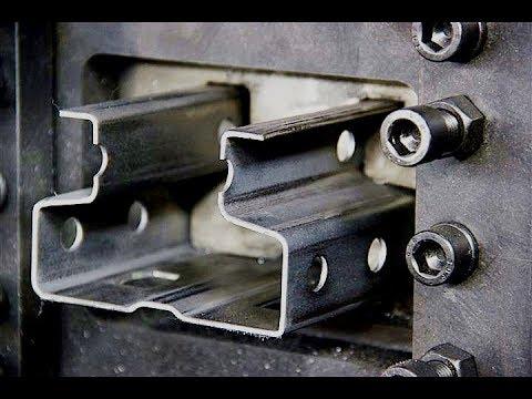 Roll Forming Machine For Warehouse Shelve & Racks In Saudi(2012)