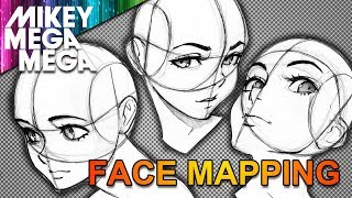 Download MAPPING THE FACE FOR ANIME & MANGA