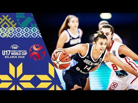 LIVE 🔴- Spain v Argentina - FIBA U17 Women's Basketball World Cup 2018