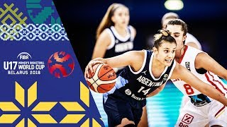Spain v Argentina - Full Game - FIBA U17 Women's Basketball World Cup 2018