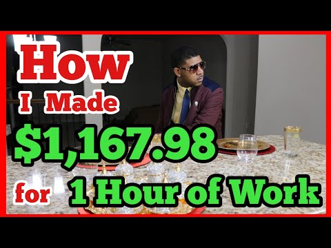 How I Made $1,167.98 for 1 Hour of Work, Residual Income of a Youtuber
