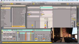 Ableton Live Tutorial - Creating Chord Progressions with MIDI Effects and Routing