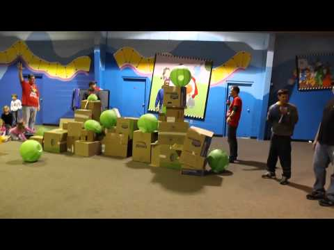 Life-size Angry Birds! - YouTube
