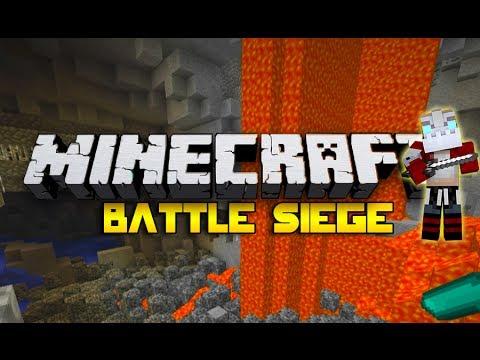 Battle Siege THE CAVE OF DOOM! W/Nooch, Woofless & SSundee! (Minecraft Mini-Game)