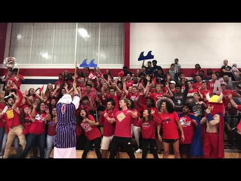 Dulles High School Red Sea