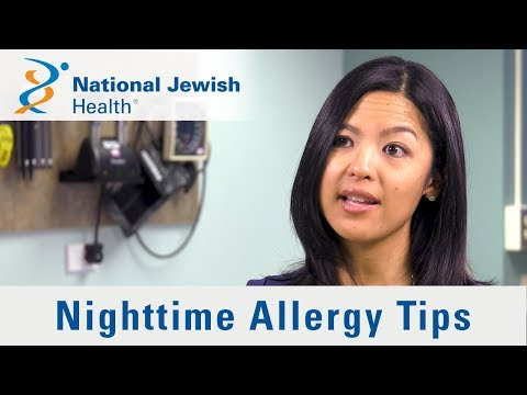 How To Avoid Nighttime Allergies and Sleep Better