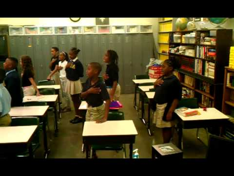 4th and 5th graders of St Louis Christian Academy