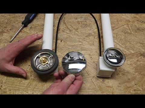 Jacuzzi HP55827 Drain Kit Deep Soak Chrome Plated