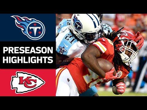 Titans vs. Chiefs | NFL Preseason Week 4 Game Highlights