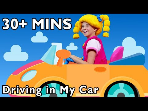 Driving in My Car and More | The Little Yellow Car | Mother Goose Club Collection | C for Car