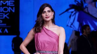Aahana Kumra spills her beauty secrets at Lakme Fashion Week W/F 2018