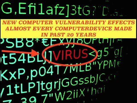 Worst Security Exploit in History, Effects Nearly Every Computer Past 20 Years
