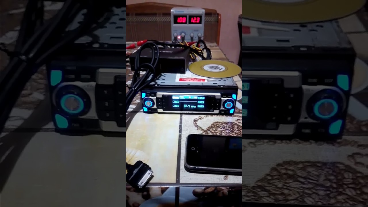 Eclipse CD8053 + IPOD adapter Eclipse ipc-106 - YouTube on