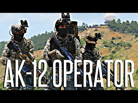 AK-12 OPERATOR - ArmA 3 King Of The Hill
