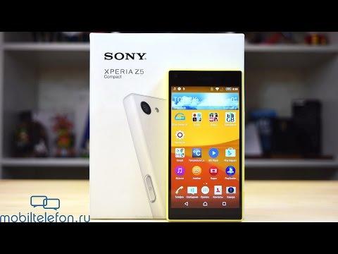 Обзор Sony Xperia Z5 Compact: камера, влагозащита, сканер пальца, звук, батарея и скорость (review)