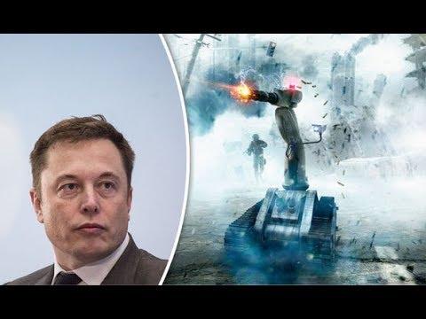 Elon Musk talks about the Danger of Artificial Intelligence - AI