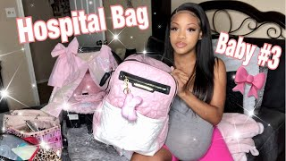 WHATS IN MY HOSPITAL BAG FOR LABOR & DELIVERY! 39 WEEKS PREGNANT