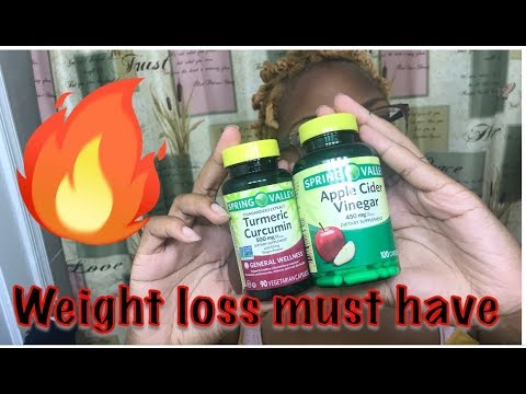 Apple Cider Vinegar + Turmeric Pills For Weight Loss