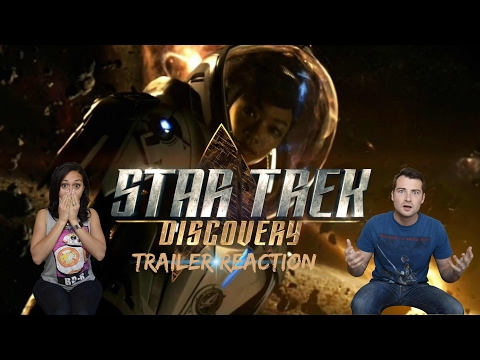 Thumbnail: Star Trek: Discovery First Look Trailer Reaction