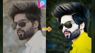 PicsArt New Best Editing || New Hairstyle Editing || Face Glow + Change Background + CB Editing