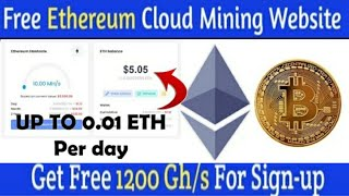 Best Ethereum Mining Site || High Paying EthMining Website 2021|| Ethereum Mining site