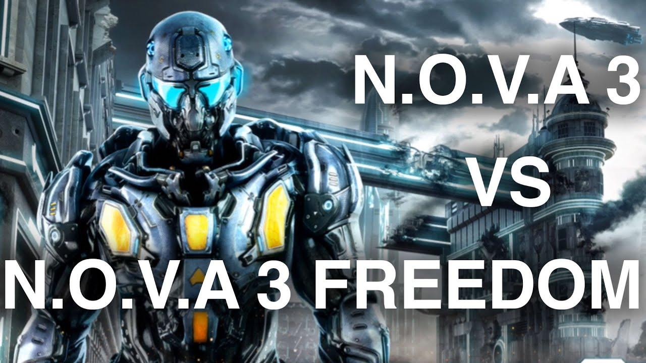 Nova 3 freedom edition vs near orbit