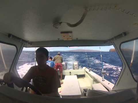Fishing Maui, Kahoolawe 7:25:14