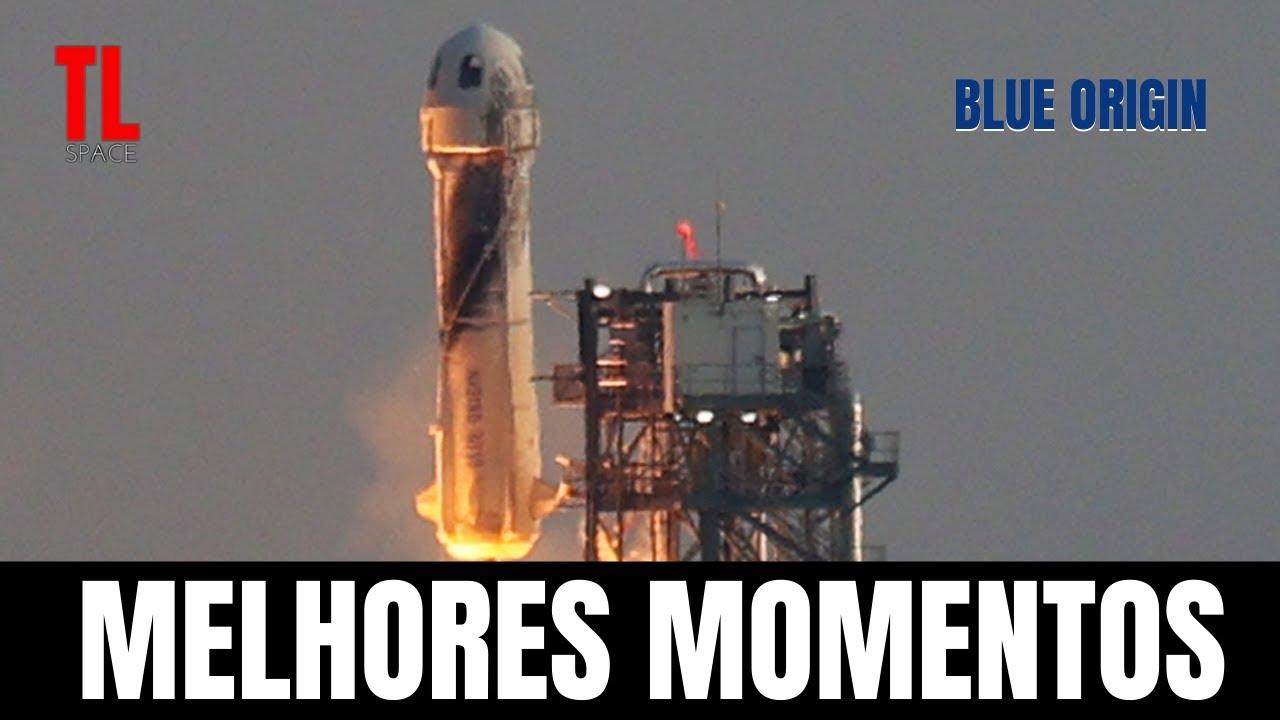 Jeff Bezos conseguiu atravessar a fronteira do Espaço! Blue Origin