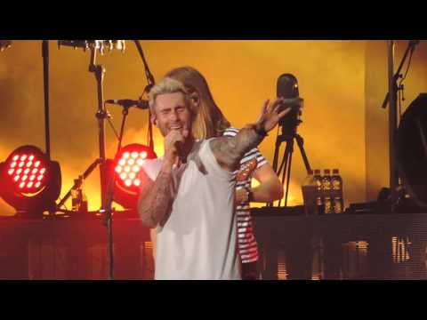 Maroon 5 - Maps & This Love  - São Paulo 19/03/2016