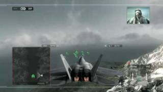 HAWX F-22 raptor gameplay and commentary (PS3)