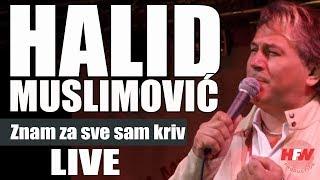 Halid Muslimovic - Znam za sve sam kriv - (LIVE) - (Vidin 2014) HD