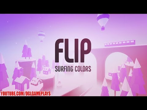 Flip : Surfing Colors Gameplay (Android iOS)
