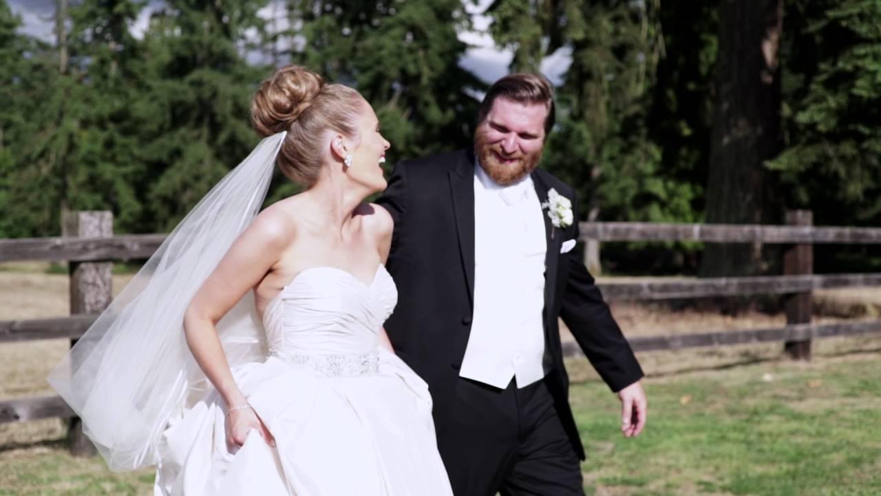 kelley farm wedding video seattle wedding videographer