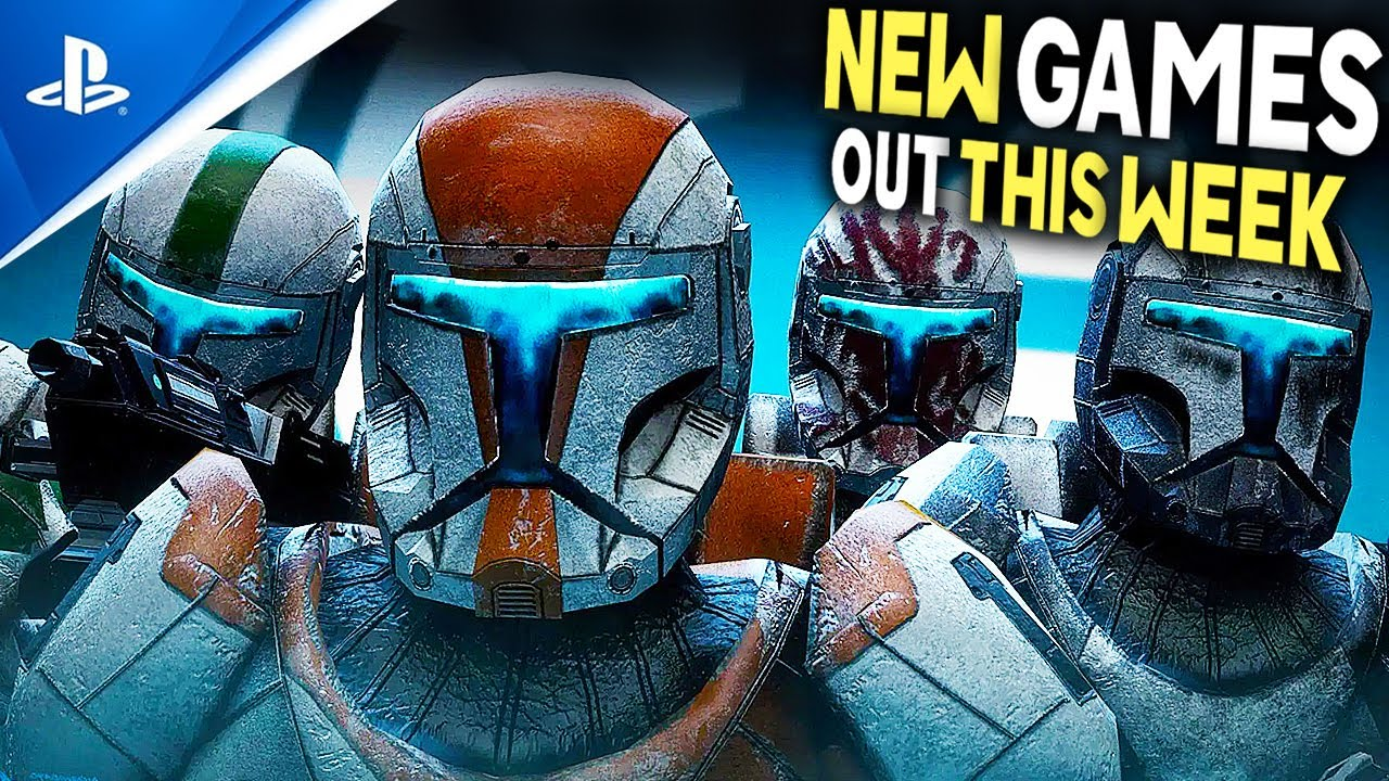 Download 7 NEW PS4/PS5 GAMES OUT THIS WEEK - New Marvel Game, New Star Wars Collections + More New Games!