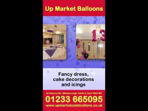 Up Market Balloons - Digital Poster