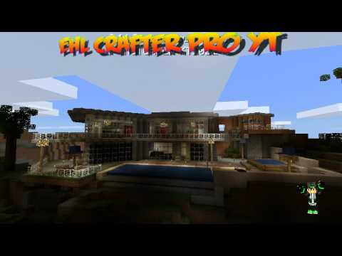 download video descargar casa moderna minecraft pe 9