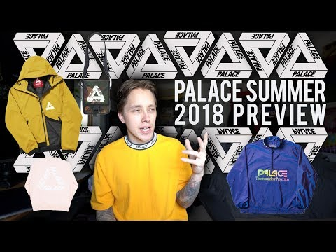 Palace Summer Season Lookbook Preview