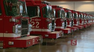 New Fire Trucks Increases Safety In Nashville