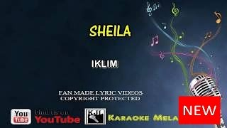 Iklim - Sheila | Karaoke | Tanpa Vokal | Minus One | Lirik Video HD Sheila