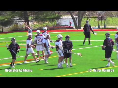 2013 Ryder Garnsey LAX Highlight Brewster Academy