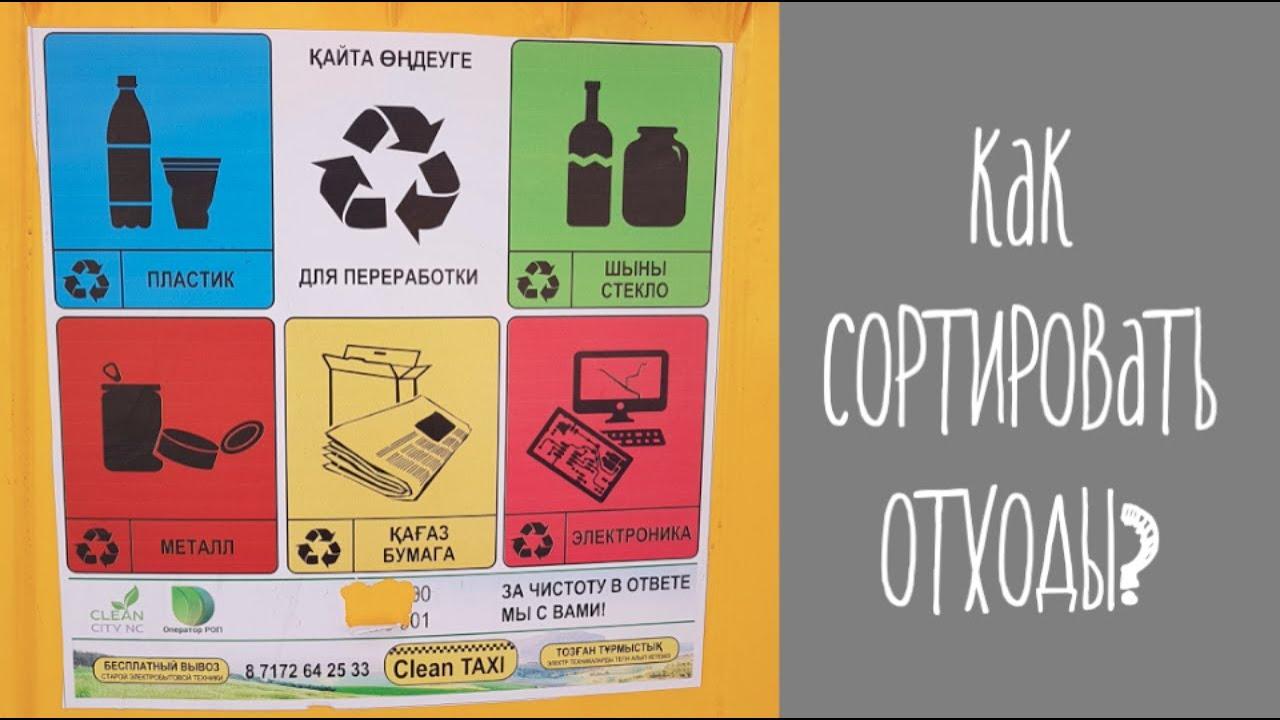 Как сортировать отходы, мусор дома? Переработка и low waste.