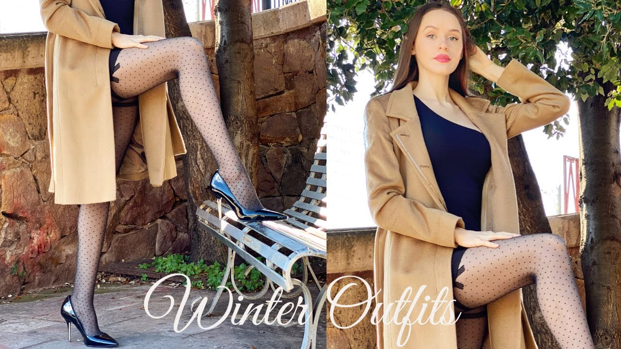 Try Outs with Tanya - Winter Outfit Ideas (Styling Skirts, Dresses, Leggings, Tights, Heels)